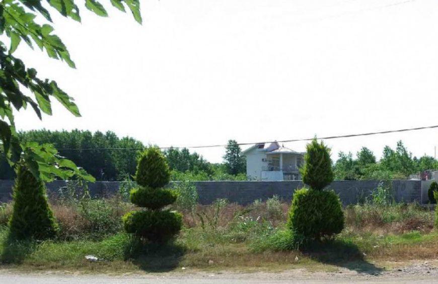 فروش زمین در عباس آباد با سند ششدانگ